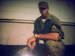 CT Fletcher in the U.S. Army