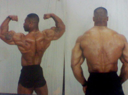 CT Fletcher during his bodybuilding days