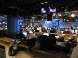 FNC's                                 newsroom                                , November 15, 2007.