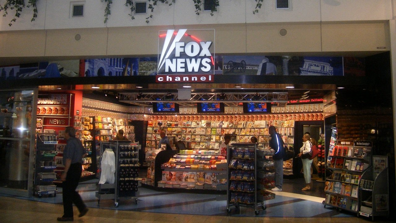FNC airport newsstand at Minneapolis-Saint Paul International Airport
