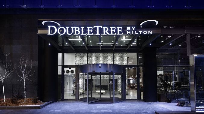 DoubleTree Entrance
