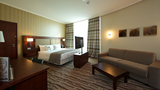DoubleTree by Hilton Hotel Bratislava, Slovakia -Deluxe room king