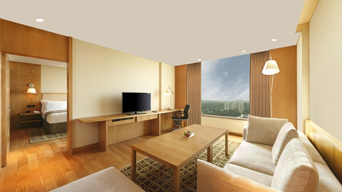 Executive Suite with living area