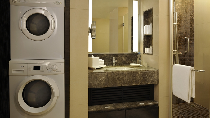 Washer and Dryer in Suite