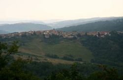 The town in Italy where she was born