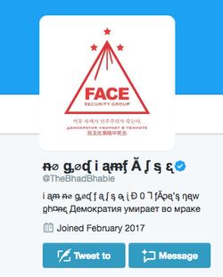 Her hackedTwitteraccount