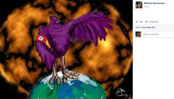 Trash Dove Artwork