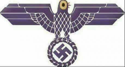 Trash Dove Nazi Symbolism
