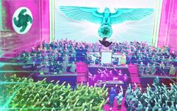 Aesthetic Nazi Trash Dove