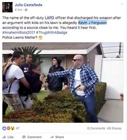 Officer Kevin J. Ferguson identified