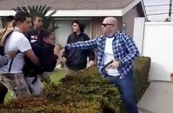 Officer Ferguson drags Christian leaving him with bruises