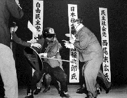 Based Stick Man fighting Chinese Communists