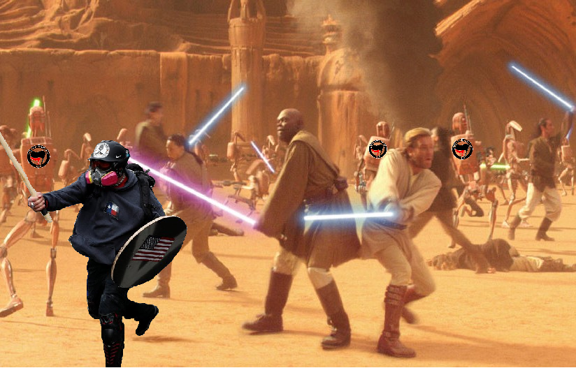Star Wars X Based Stick Man