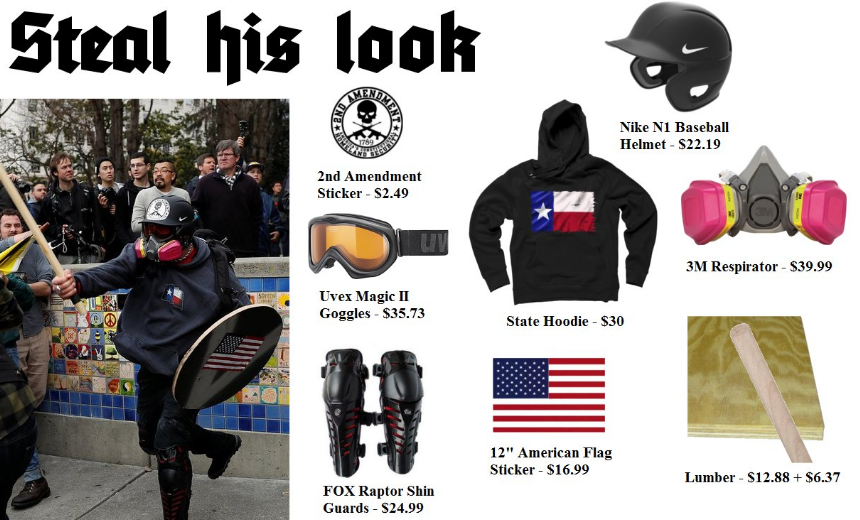 Steal Based Stick Man's Look