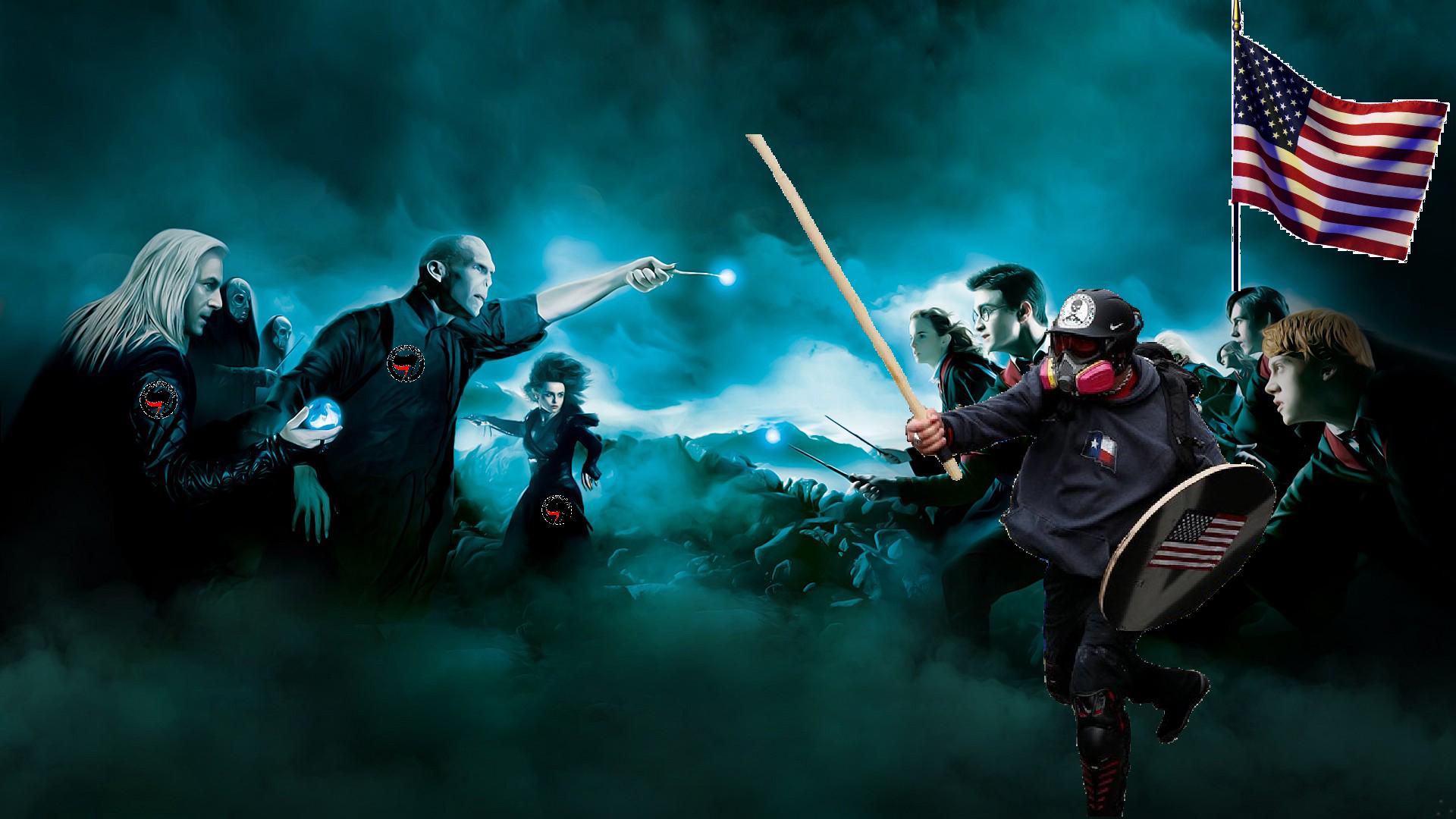 Harry Potter X Based Stick Man