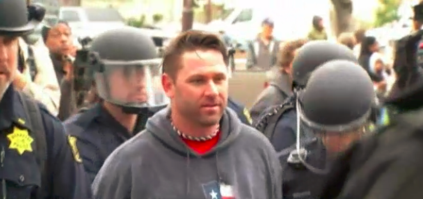 Based Stick Man was arrested by the police