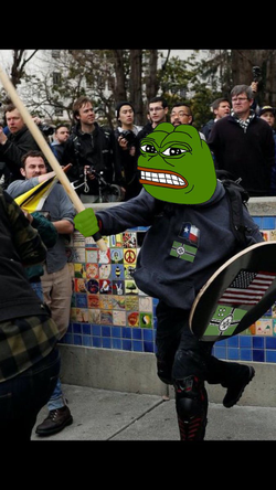 Kekistani Based Stick Man