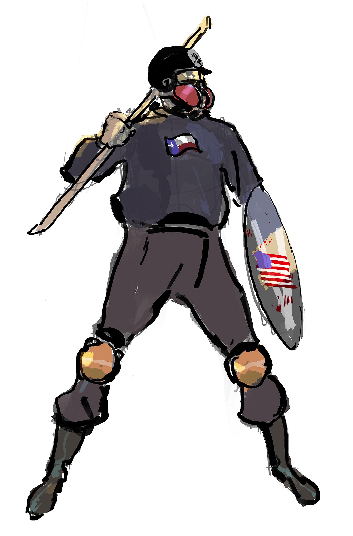 Based Stick Man Art