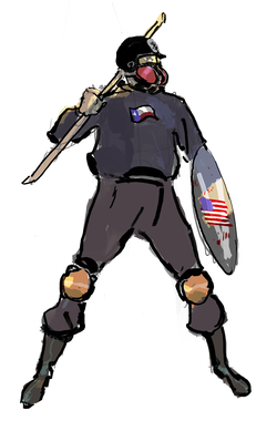 Based Stick Man Art