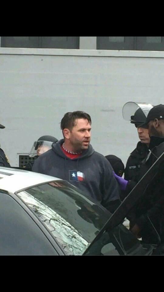 Based Stick Man getting arrested