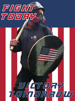 Based Stick Man Poster