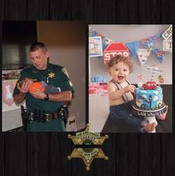 Sgt. Shawn Anderson's delivered baby Declan turned one year old one day after Anderson was killed