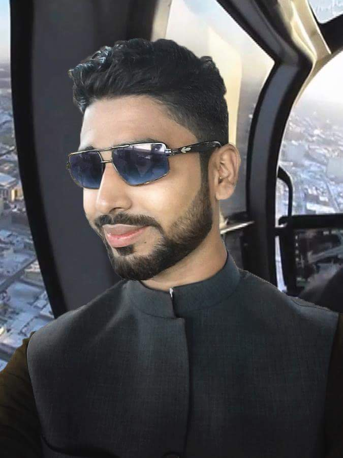 Aryan Ashik in 'all black everything'