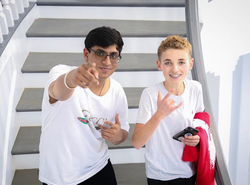 Ishan Goel and                               Ryan McKenna (Selfie Kid)                              ​