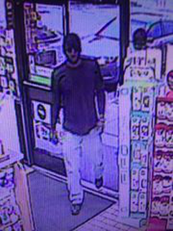 Surveillance photo of a person of interest in the killing of Corrina Mehiel. (photo provided by the Metropolitan Police Department of Washington D.C. )
