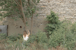 Corrina Mehiel in her  Tree Hugger  photograph series (2015)