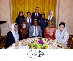 Ziad Ahmed at the White House Iftar