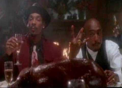 """2 of Amerikaz Most Wanted"": 2Pac and Snoop Dogg"