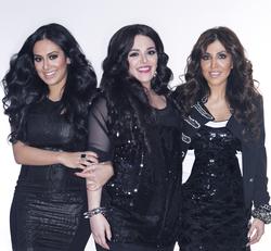 Photo of Huda and her sisters Alya and Mona[7]