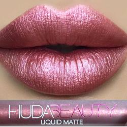 Ad for a Huda Beauty lip stick