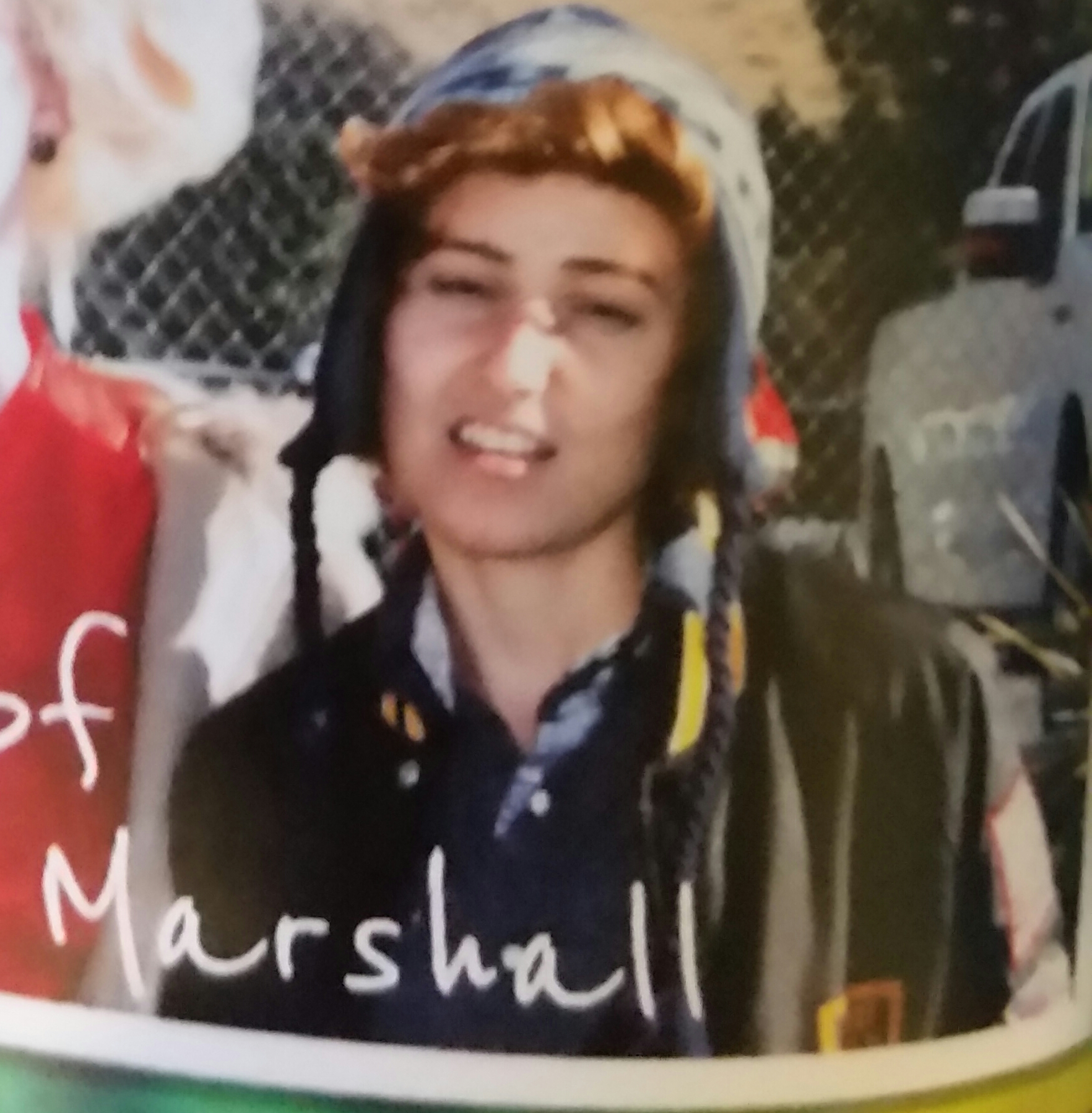 A picture from Emily's yearbook