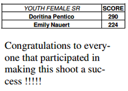 Emily Nauert's Archery score