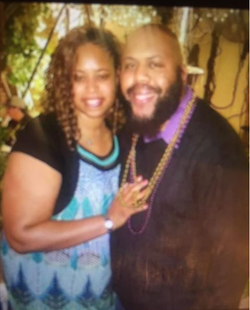 Photo of Joy and Steve Stephens (Stevie Steve)together before they broke up