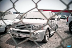A Range Rover in the Luxury Car Graveyard