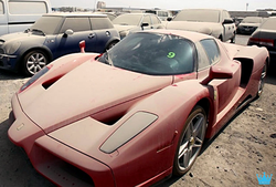 A $1.5 million Ferrari (limited edition) collecting dust; only 399 of these cars were made