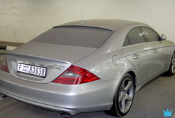 A Mercedes in the Luxury Car Graveyard