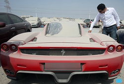 Another image of the $1.5 million Ferrari (limited edition)
