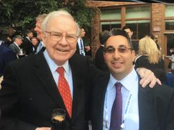 Daniel Shakhani & Warren Buffet.Warren Buffett has the second-highest amount given to charity ($30.7 billion) among the greatest philanthropists.