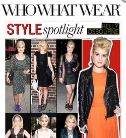Kelly Osbourne featured on WhoWhatWear.com in Malibu Native's Leather Jacket.