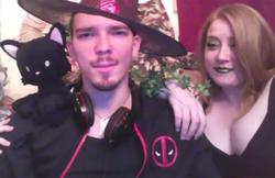 Heather Anable on Youtube with her killer, Aleksander Kolpakov.