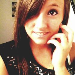 Photo of Alyssa on the phone[3]