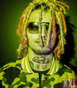 Lil Pump featured in  XXL (magazine)