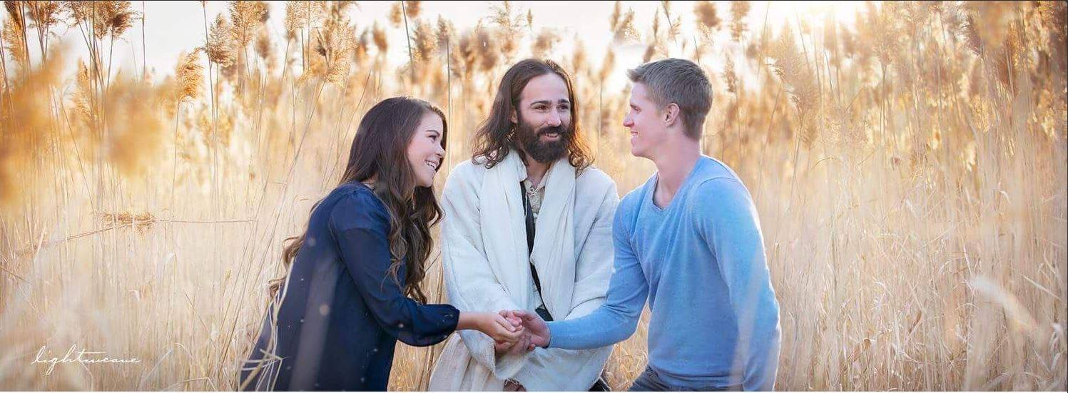 Shaking Hands with Jesus