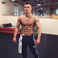 A front Shot of Rob Lipsett