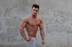 Rob Lipsett posing for a shot