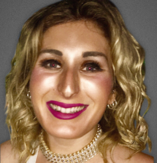 Laura Loomer pictured on The Rebel